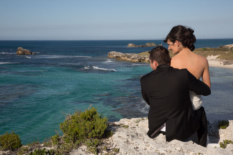 Wedding photographer and videographer on Rottnest Island
