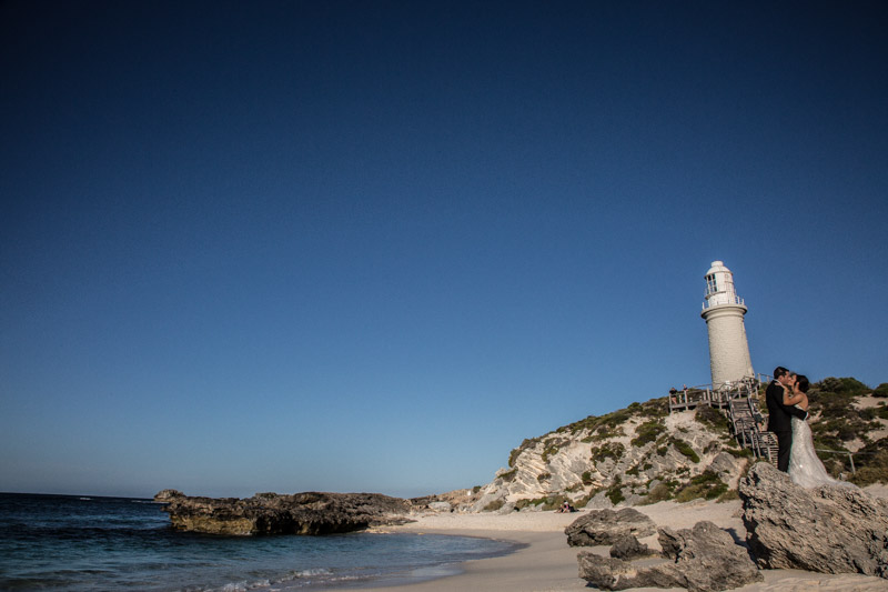Rottnest Island brings a unique beauty to any wedding